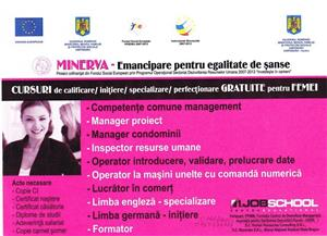 ASDR as partner in the  SOPHRD (POSDRU) project MINERVA – Equality of opportunities through emancipation